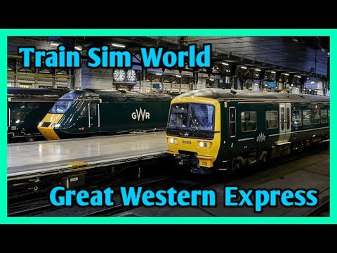 Train Sim World - Talking About The Great Western Express [1080p 60FPS] - 동영상